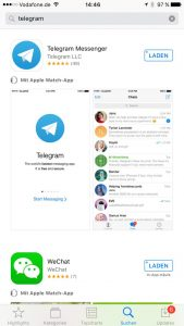 Telegram iTunes