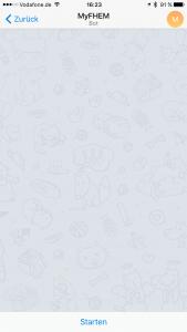 Telegram Bot starten